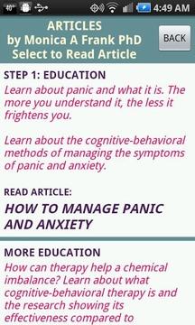 Stop Panic & Anxiety Self-Help