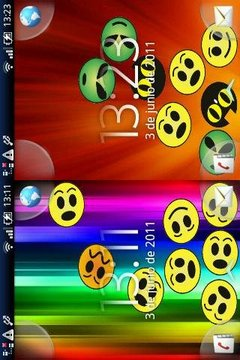 Funny Faces Live Wallpaper