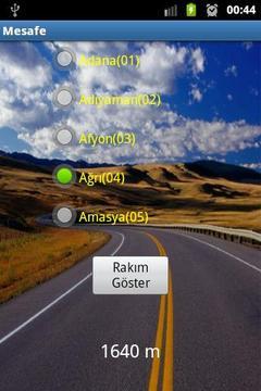 LBS city distance Turkey