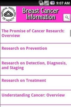 NIH: Breast Cancer Information