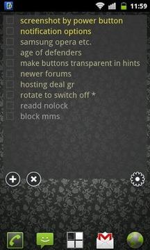 To Do List Widget Lite