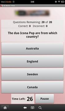 UK Music Trivia