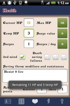 D&D 4 Android