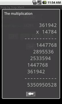 Math step by step