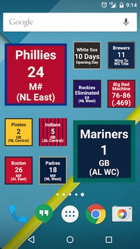 Magic Number for MLB