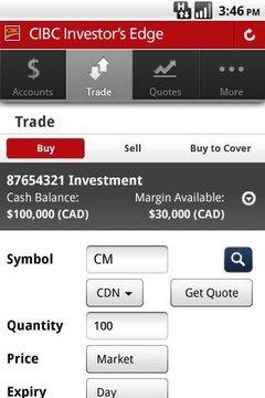 CIBC Mobile Brokerage