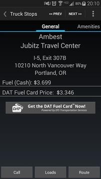 My DAT® Trucker Services