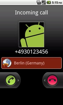 City, Country, Caller ID
