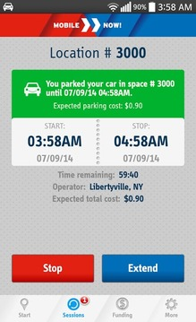 MobileNOW! Parking App for US