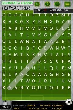 世界杯足球词拼图