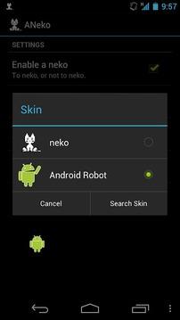 DroidSkin for ANeko
