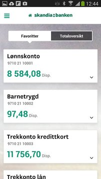 Skandiabanken Mobilbank