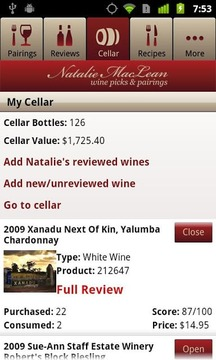 Natalie MacLean Wine Picks