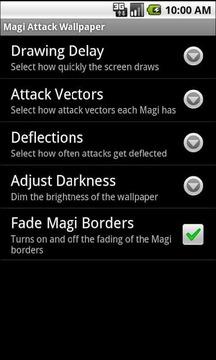 Magi Attack Live Wallpaper