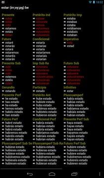 西班牙语动词 专业版