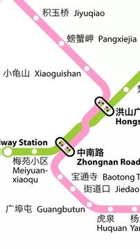 武汉地铁路线图