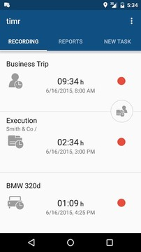 timr -Time and Mileage Tracker