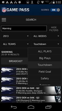 NFL Game Pass Mobile