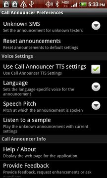 呼叫指示器 Call Announcer