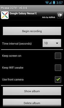 Picasa CCTV (Android 2.3+)