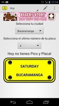 Pico y Placa Colombia