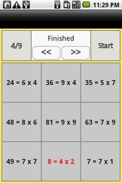 Rev. one-digit multiplication