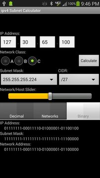 ipv4 Subnet Calculator