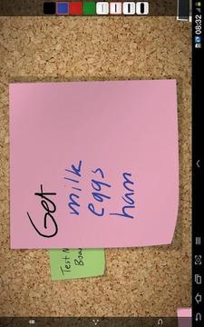 绘画记事板 Note Board