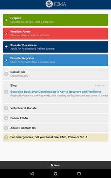联邦应急管理局 FEMA