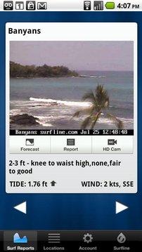 Surfline Surf Report