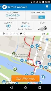 MapMyRun GPS运行