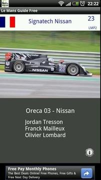 Le Mans Guide Free