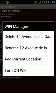 Wifi Manager PRO