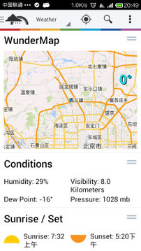 天气地图 Weather Underground