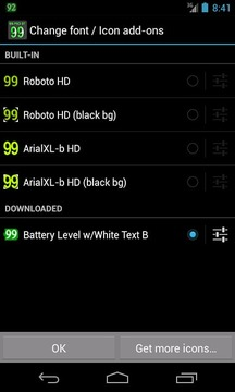 BN Pro Battery Level-WhiteB