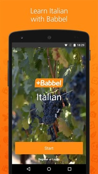 Learn Italian with babbel.com