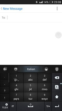 Italian for GO Keyboard