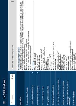 静脉注射药物手册