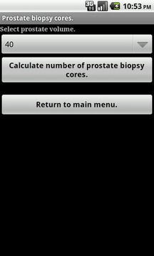 Prostate Cancer Calculator