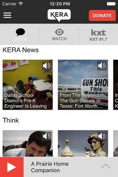 KERA Public Radio App