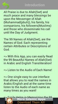 99 Allah Names (Islam)