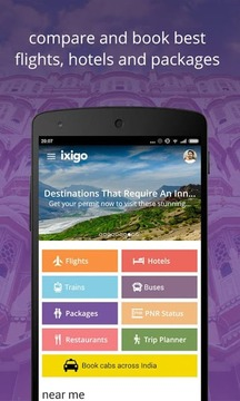ixigo hotels & flights