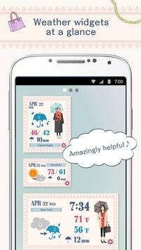 おしゃれ天気 〜コーディネートを教えてくれる天気予报アプリ〜