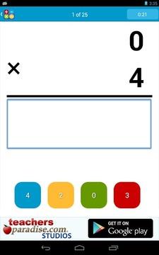 数学实践的闪存卡