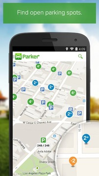 Parker, Find available parking