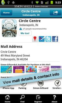 Simon Malls: Shopping Mall App