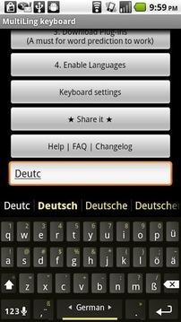 Plugin German