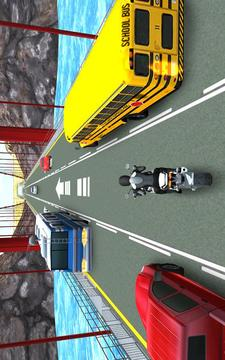 摩托赛车交通(3D)
