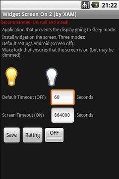 Widget Screen ON 2