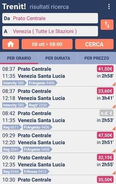 Orari Trenitalia